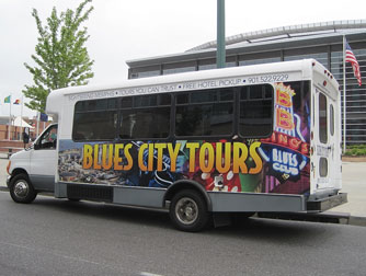 Blues City Tours Logo