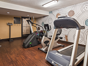 Fitness Center at the Best Western Galleria Inn & Suites
